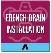 french drain installation long island